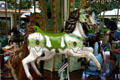 Carousel horse. Beaune, France.