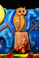 Owl from float at Mobile Carnival Museum. Mobile, AL