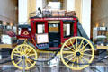 Wells Fargo & Company Concord coach in lobby of Wells Fargo Center. Sacramento, CA