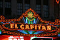 El Capitan Theater marquee. Hollywood, CA