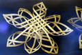 Wooden star handcrafted in South Amana. High Amana, IA