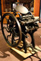 Eclipse clamshell jobber printing press by J.F.W. Dorman of Baltimore, MD, at Museum of Idaho. Idaho Falls, ID.