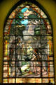 Angels stained glass windows by Louis Comfort Tiffany & Edward Burne-Jones in Second Presbyterian Church. Chicago, IL.